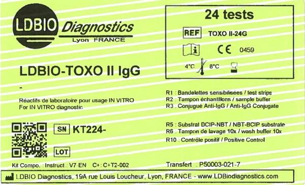 Toxoplasma II IgG
