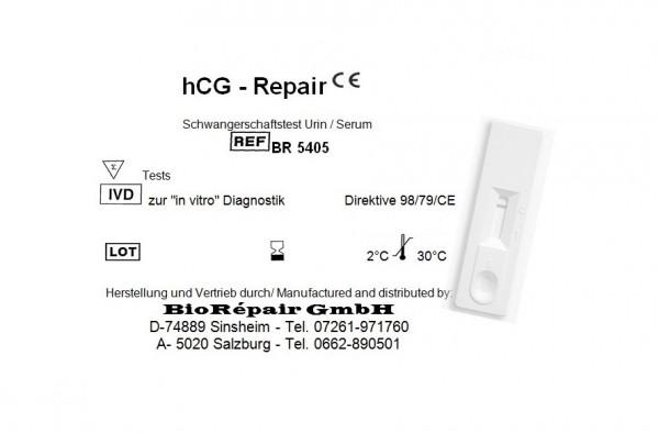 hCG-Repair Schwangerschaftstest in Kassettenformat