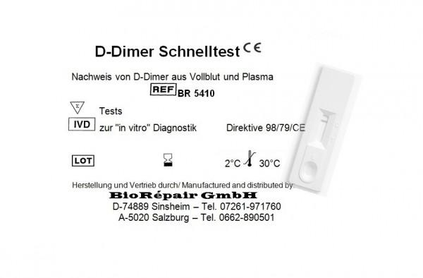 D-Dimer Kassettentest