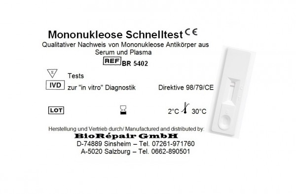 Mononukleose Kassettentest
