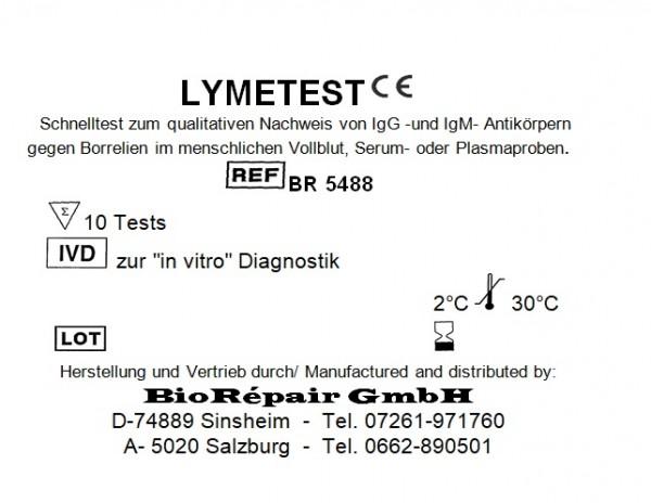 Lymetest (Borreliose Schnelltest)